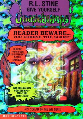 Give Yourself Goosebumps 13 - Scream of the Evil Genie